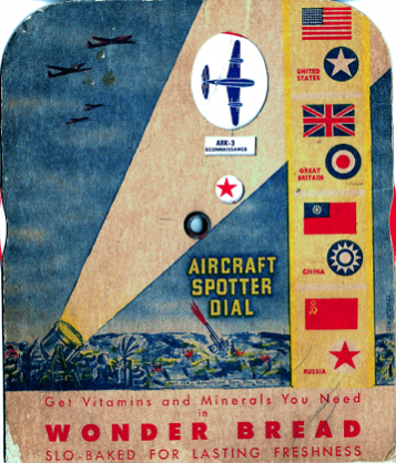 Estate Sale Finds - Allied air plane spotter