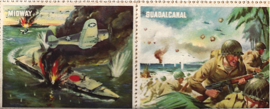 Estate Sale Finds - stamps-midway-guadalcanal-cindy-entriken-author