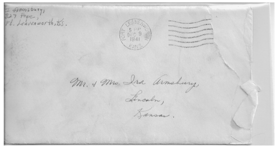 Pearl Harbor - The Day After - envelope