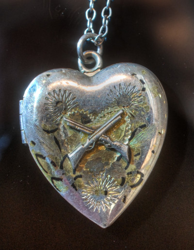 WWII Sweetheart Jewelry - locket