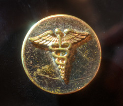 WWII Sweetheart Jewelry - caduceus