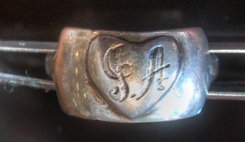 WWII Sweetheart Jewelry ring