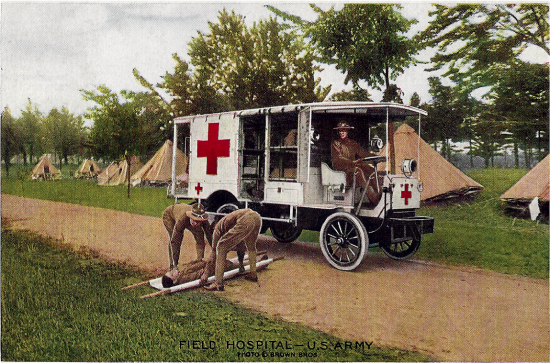 WWI in Pictures - Field Hospital - U. S. Army