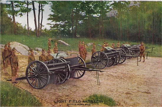 WWI in Pictures - Light Field Artillery