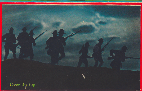 WWI in Pictures - over the top WWI