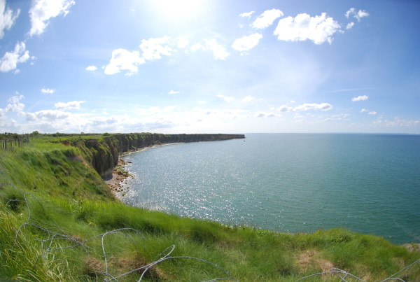 D-Day, 2014 Looking west from Pointe-du-Hoc