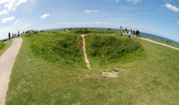 D-Day, 2014; Another crater
