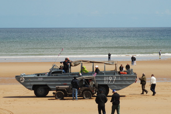 D-Day, 2014 A WWII amphibious vehicle