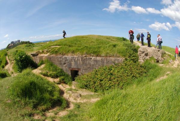 D-Day, 2014; German bunker