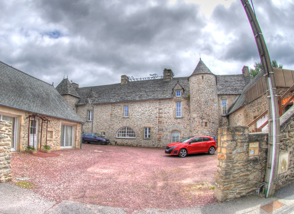 A 16th century castle, now a hotel, our D-Day lodging.